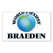 World's Sexiest Braeden Decal