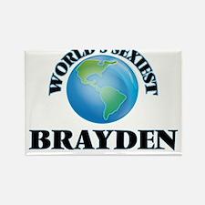 World's Sexiest Brayden Magnets