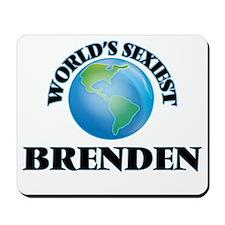 World's Sexiest Brenden Mousepad
