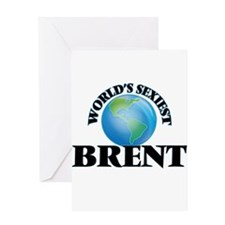 World's Sexiest Brent Greeting Cards