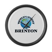 World's Sexiest Brenton Large Wall Clock