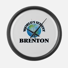 World's Sexiest Brenton Large Wall Clock