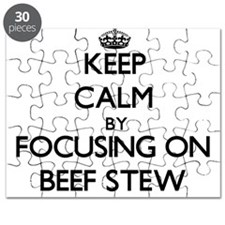 Keep Calm by focusing on Beef Stew Puzzle