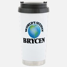 World's Sexiest Brycen Stainless Steel Travel Mug