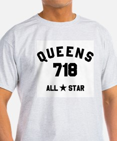 """QUEENS 718 ALL-STAR"" T-Shirt"