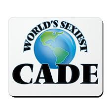 World's Sexiest Cade Mousepad