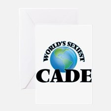 World's Sexiest Cade Greeting Cards