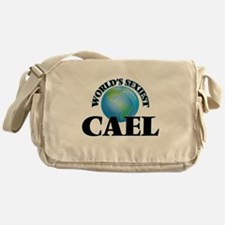World's Sexiest Cael Messenger Bag