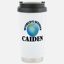 World's Sexiest Caiden Travel Mug