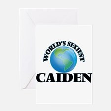 World's Sexiest Caiden Greeting Cards