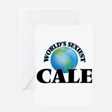 World's Sexiest Cale Greeting Cards