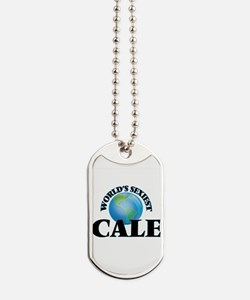 World's Sexiest Cale Dog Tags