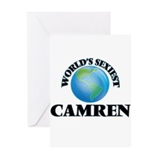 World's Sexiest Camren Greeting Cards