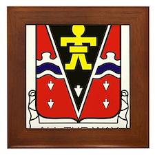 509th PIR Crest.png Framed Tile