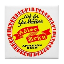 Adler Brau - 1938 Tile Coaster