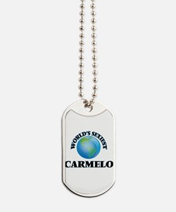 World's Sexiest Carmelo Dog Tags