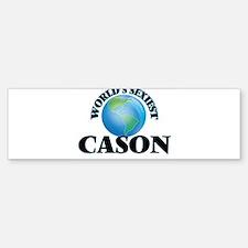 World's Sexiest Cason Bumper Bumper Bumper Sticker