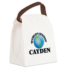 World's Sexiest Cayden Canvas Lunch Bag