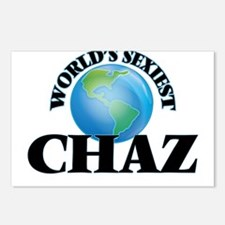 World's Sexiest Chaz Postcards (Package of 8)
