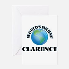 World's Sexiest Clarence Greeting Cards