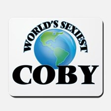 World's Sexiest Coby Mousepad