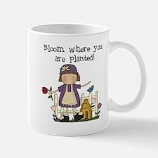 Bloom Where Planted Mug