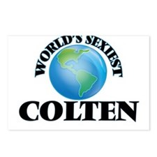 World's Sexiest Colten Postcards (Package of 8)