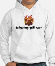 BBQ Fire: Tailgating grill te Hoodie
