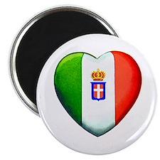 """MY ITALIAN HEART 2.25"""" Magnet (10 pack)"""