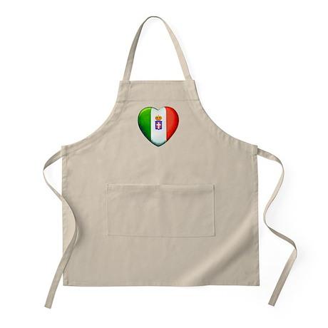 MY ITALIAN HEART BBQ Apron