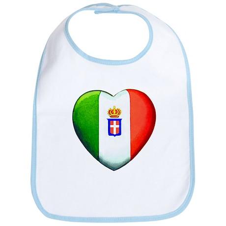 My Italian Heart Bib