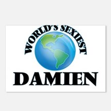 World's Sexiest Damien Postcards (Package of 8)