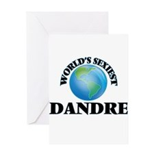 World's Sexiest Dandre Greeting Cards