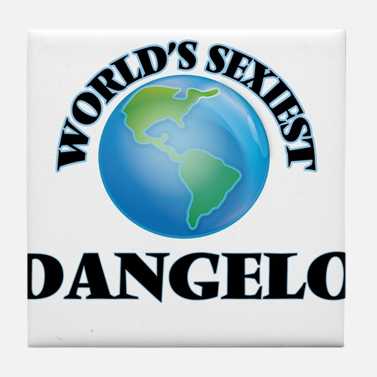 World's Sexiest Dangelo Tile Coaster