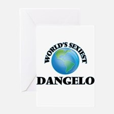 World's Sexiest Dangelo Greeting Cards