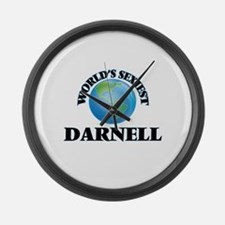 World's Sexiest Darnell Large Wall Clock