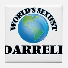 World's Sexiest Darrell Tile Coaster