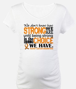 Kidney Cancer HowStrongWeAre (Or Shirt