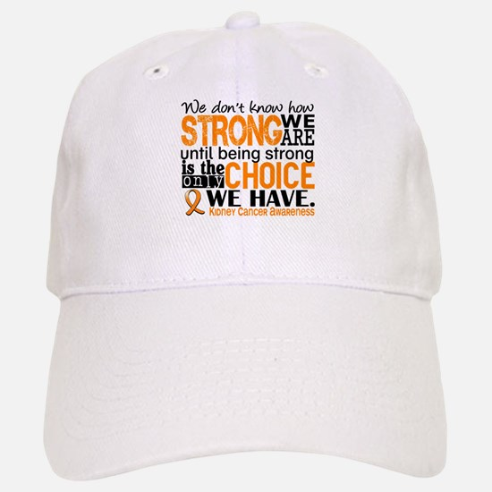 Kidney Cancer HowStrongWeAre (Orange) Hat