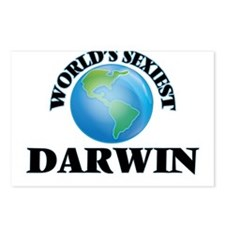 World's Sexiest Darwin Postcards (Package of 8)