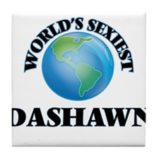 World's Sexiest Dashawn Tile Coaster
