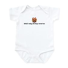 BBQ Fire: Relish today Ketchu Infant Bodysuit