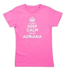 Keep calm and Girl's Tee