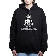 Cute Adrianna Women's Hooded Sweatshirt