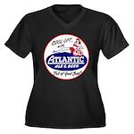 Atlantic Beer - 1946 Women's Plus Size V-Neck Dark