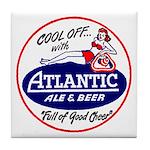Atlantic Beer - 1946 Tile Coaster
