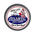 Atlantic Beer - 1946 Wall Clock