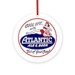 Atlantic Beer - 1946 Ornament (Round)