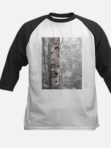 Birch Tree In Forest Baseball Jersey