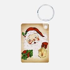 Vintage Santa 2 Keychains